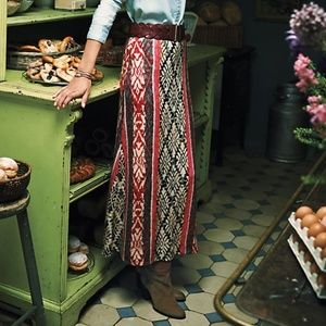 Vanessa Virginia Fairisle Sweater Skirt - Sz L